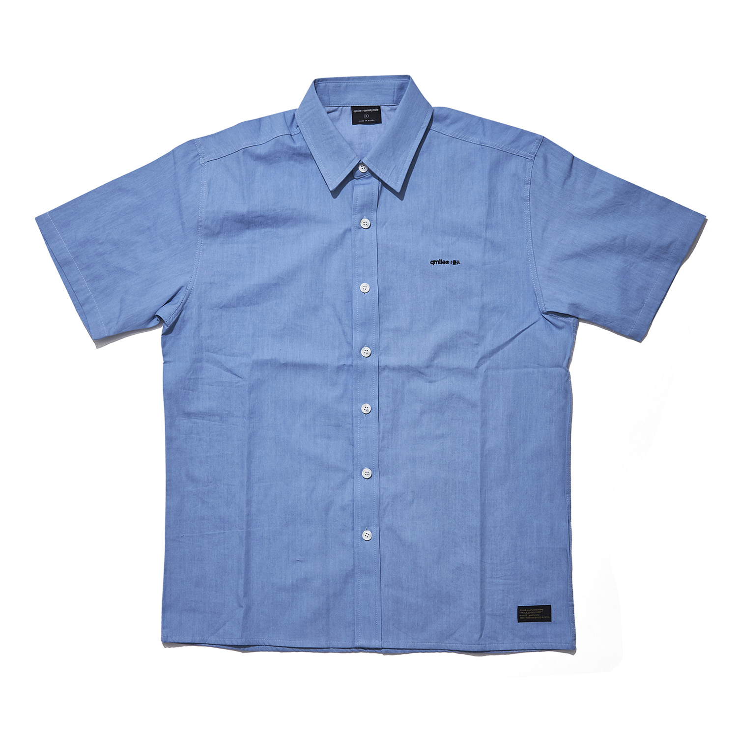 NB02 (nambang) short sleeve light denim