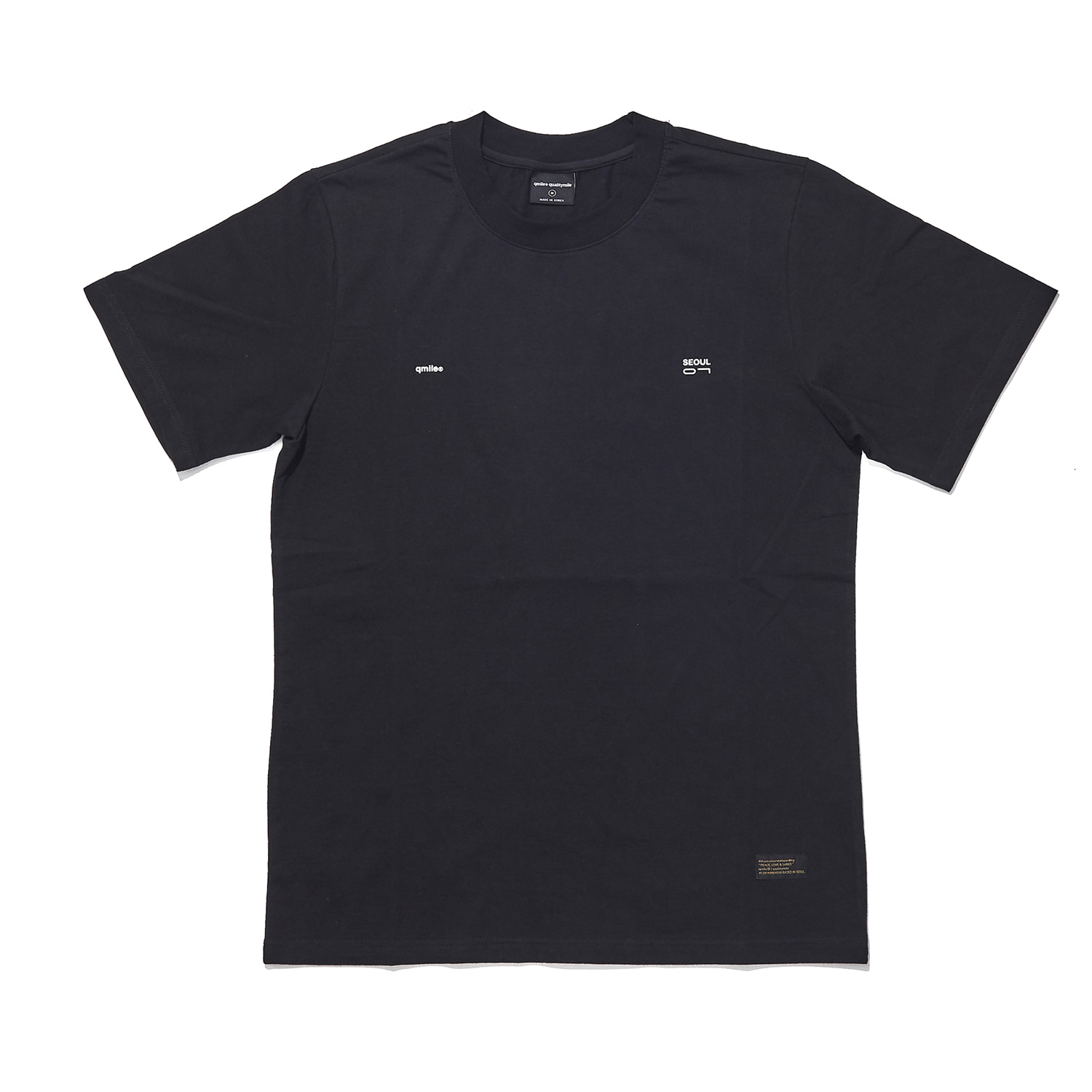 QS07 (qmile seoul 07) short sleeve black