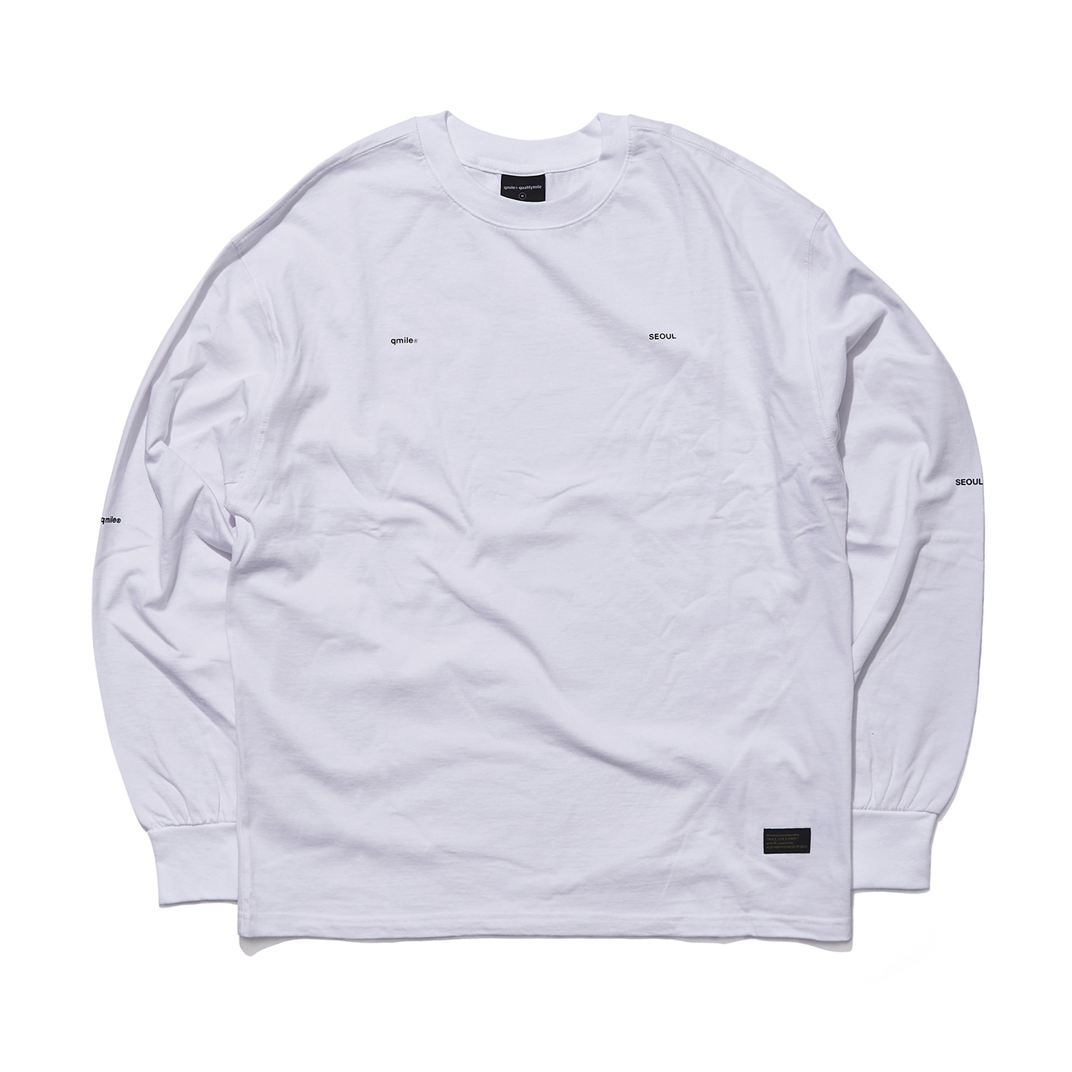 QS (qmile seoul) long sleeve white