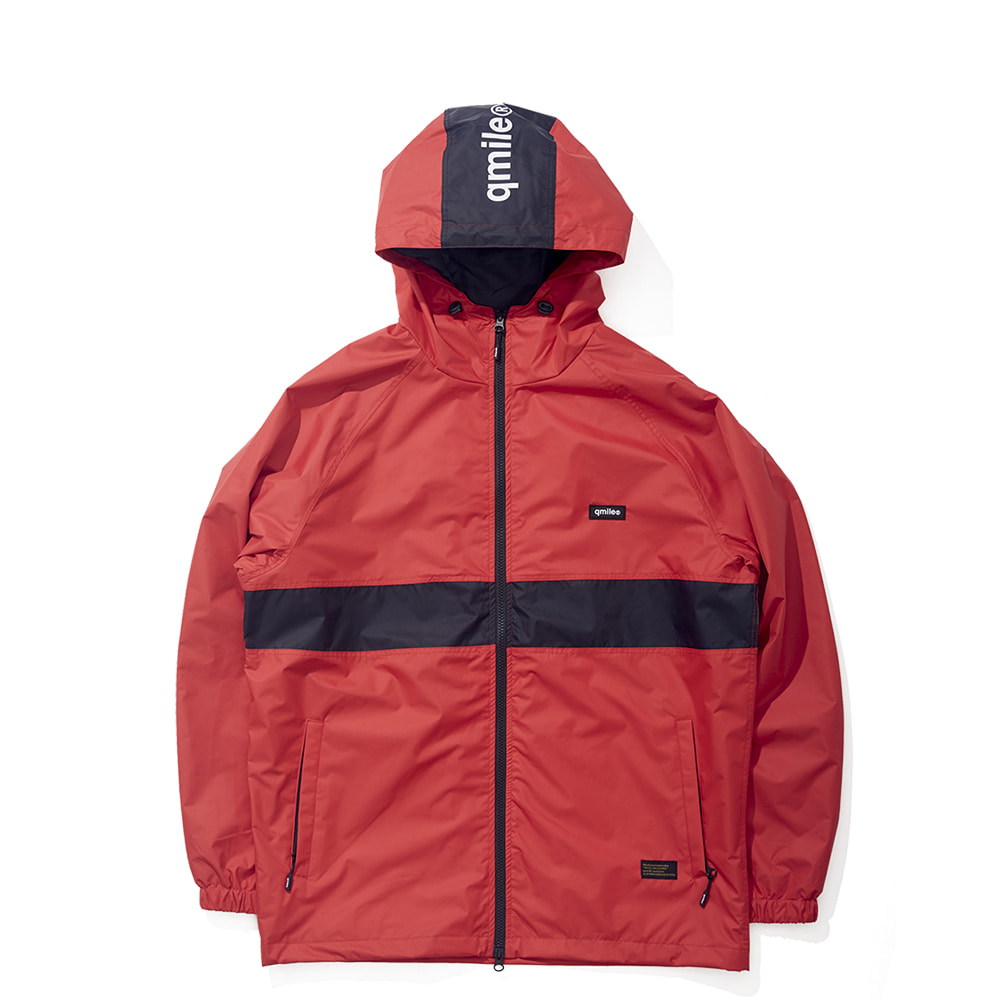 24A TRAING HOODED JACKET RED